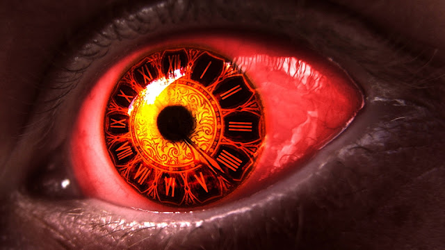 Clock Eye HD Wallpaper