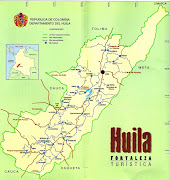 MAPA DEL HUILA. Imágenes mapas del Huila, Colombia (mapa del huila)