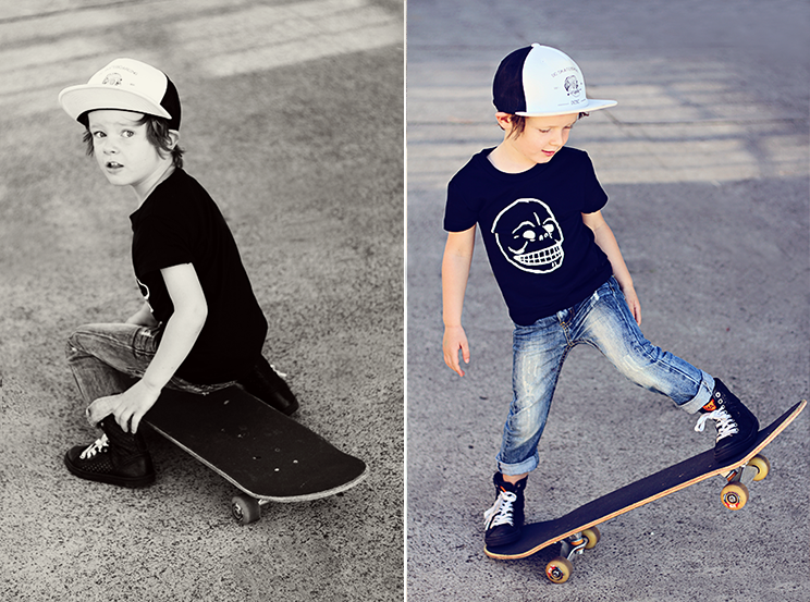 Color / EB544B / Skater Dude Guy :: COLOURlovers