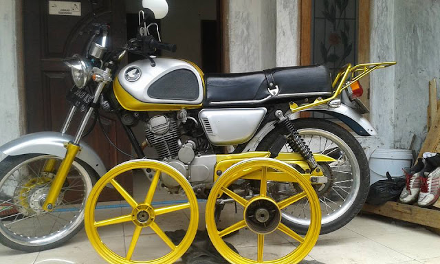 Foto Modifikasi Honda Cb Basic MP 02
