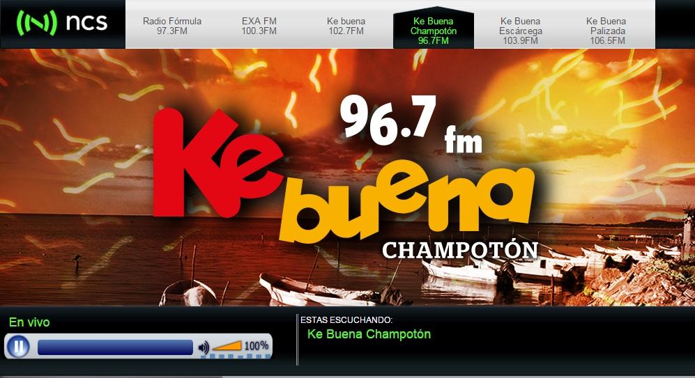ESCUCHE LA KEBUENA CHAMPOTON 96.7 F.M. ( CLICK EN IMAGEN )