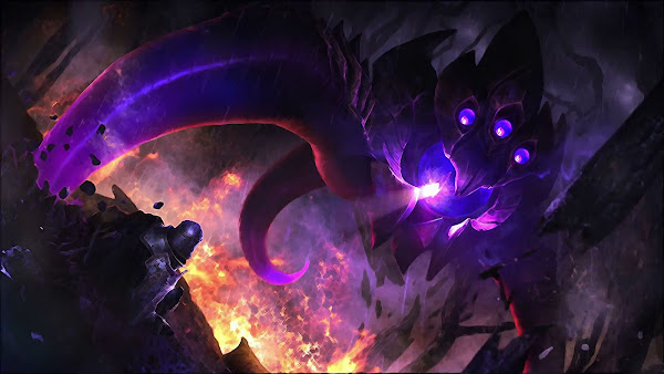 vel'koz league of legends hd wallpaper
