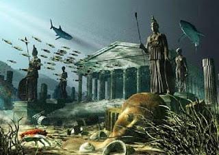 ¿La Atlántida desapareció por un Tsunami