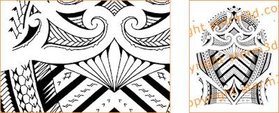 maori samoan shoulder tattoo design mixed sleeve