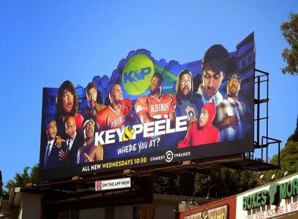Key & Peele season 4 special extension billboard