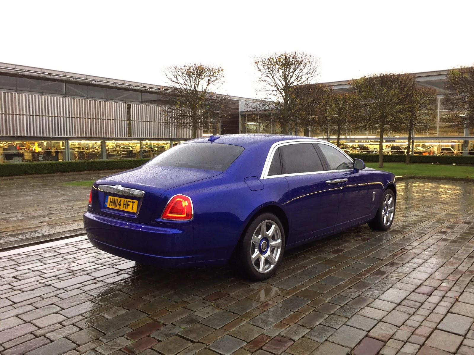 2014 Rolls Royce Ghost Series II Extended Wheelbase