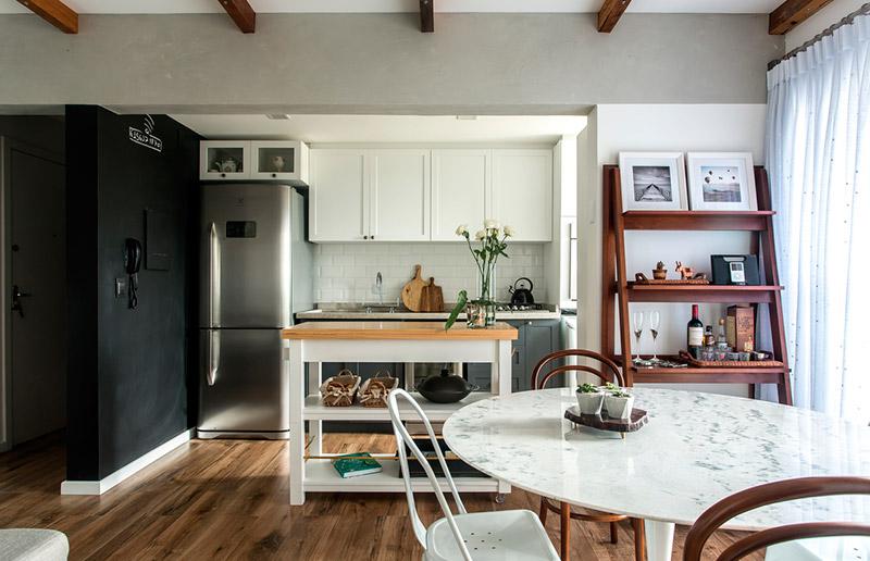 Um apartamento clean e brasileiro vem ver casa e cozinha for Ver apartamentos pequenos
