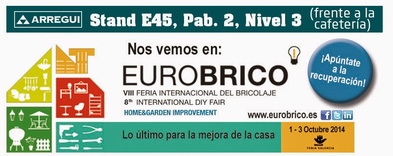 Arregui octubre 2014 for Eurobrico arco