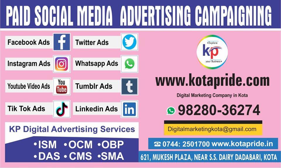 kotapride digital marketing kota