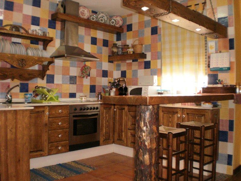 Mi casa mi hogar cocinas r sticas - Baldosas rusticas ...