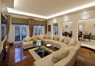 living room design furniture modern decoration interior idea bali bogor sets