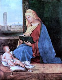 Lesende Madonna