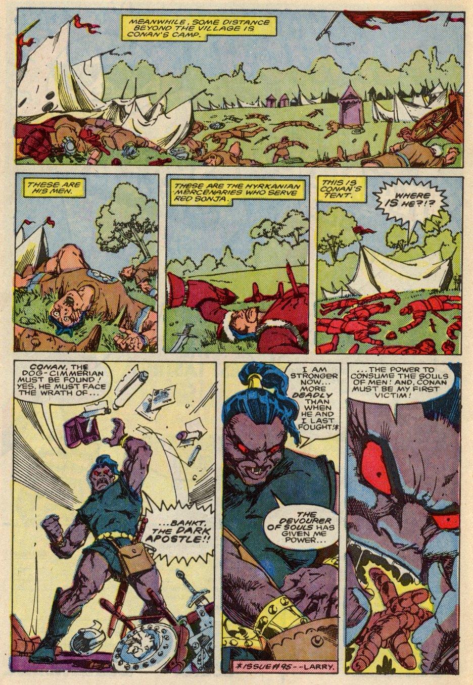 Conan the Barbarian (1970) Issue #197 #209 - English 5