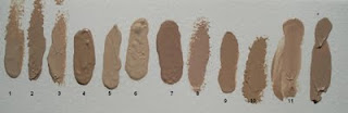 Make-up Atelier Paris foundation shades, waterproof, FLW1Y