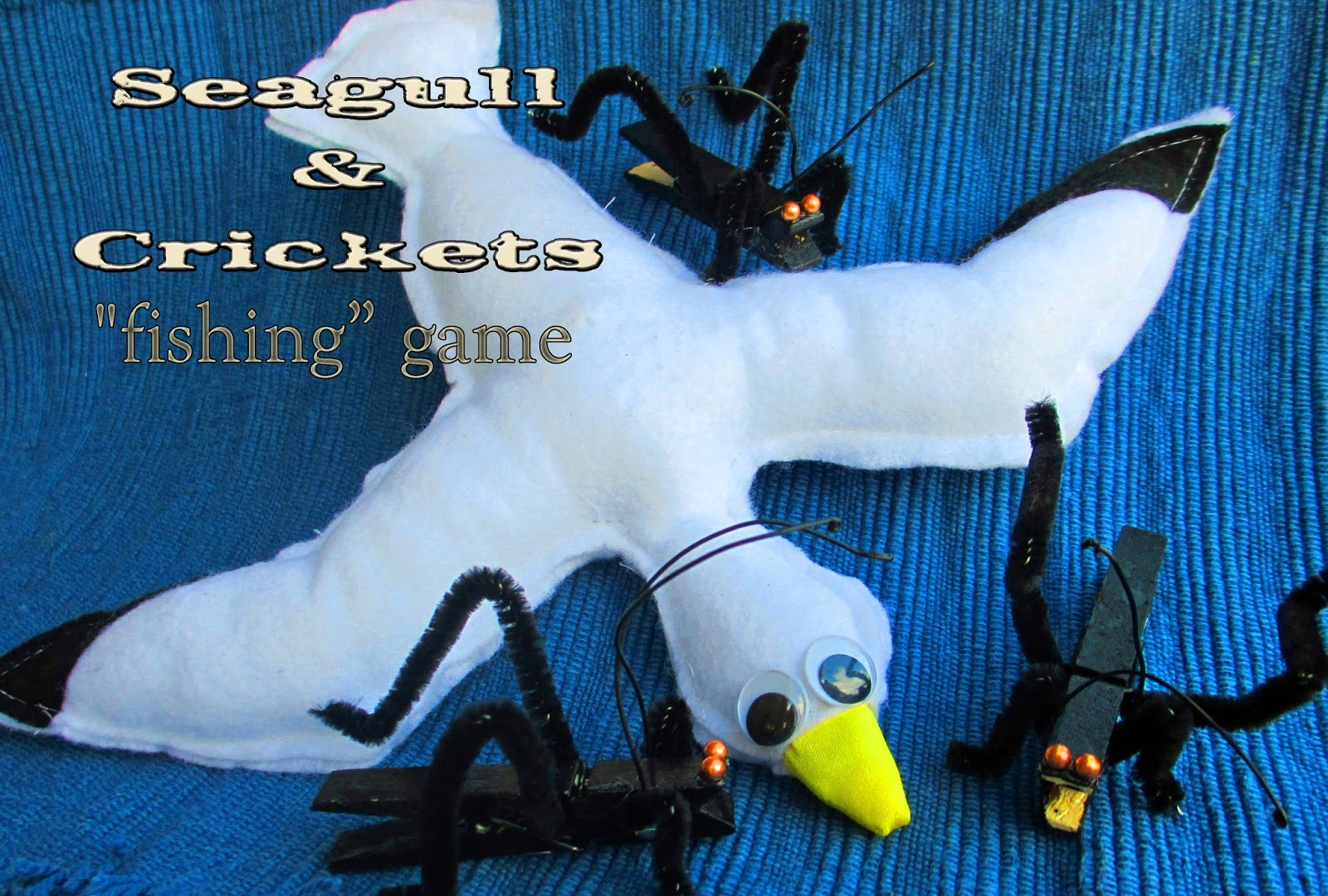 Seagull & Crickets Game | Living in Lilliput