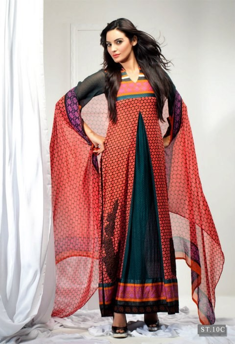 Libas Embroidered Lawn Magazine 2013 Shariq Textiles - Clothing9