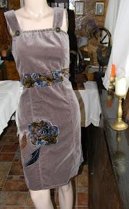 Sarafan elegant catifea