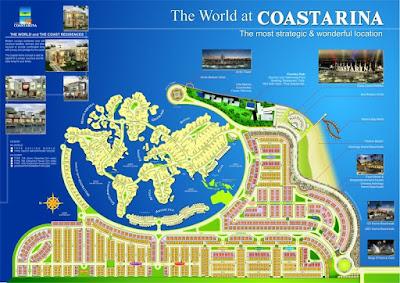 Masterplan Coastarina Batam