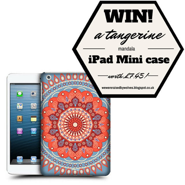 UK Giveaway! Win a Tangerine Mandala iPad Mini Case!