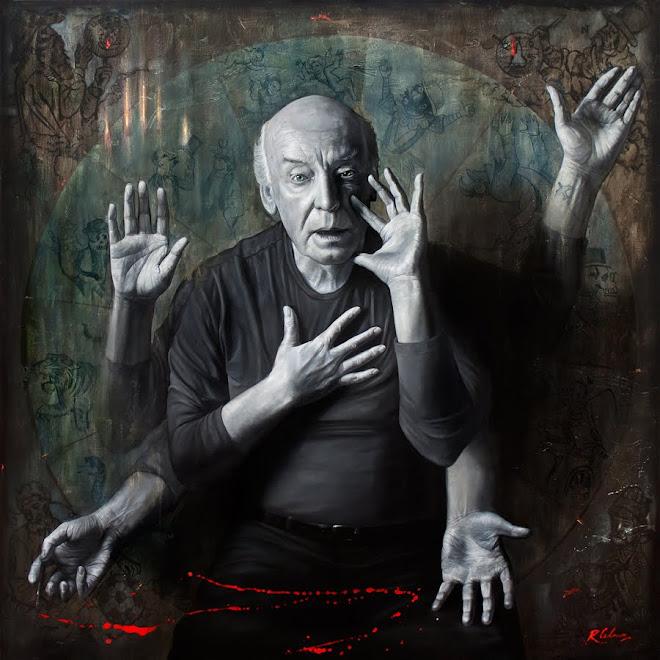 Retrato de Eduardo Galeano