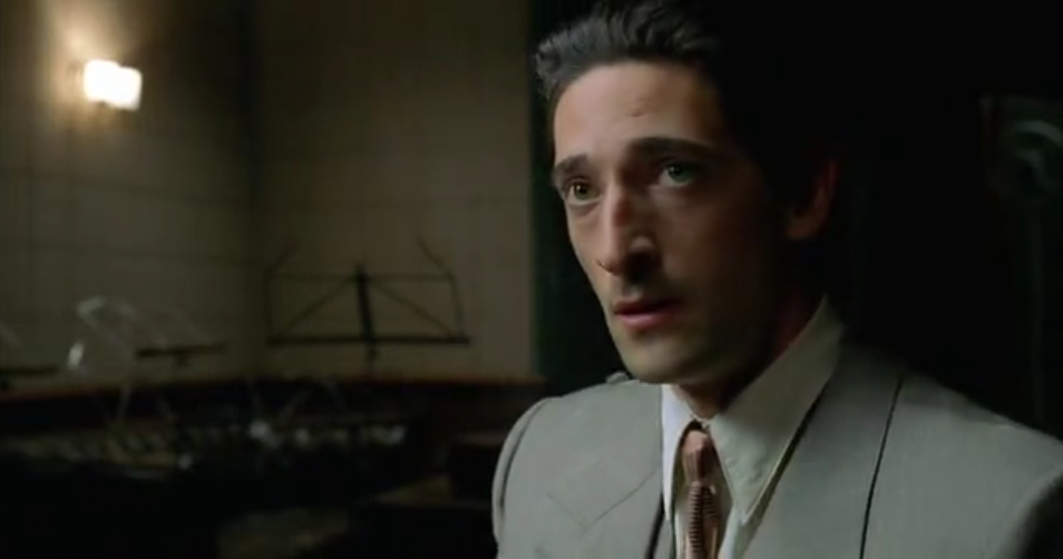 Best Actor: Best Actor... Adrien Brody Pianist