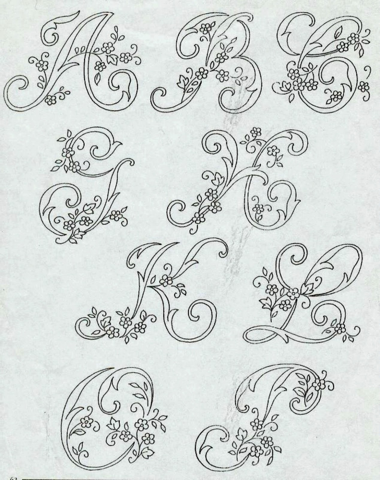Professione donna alfabeto da ricamare con ricamo classico for Ricamo schemi gratis