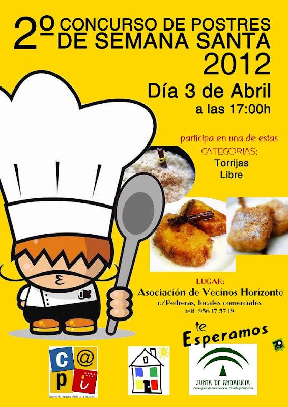 Nuestras recetas cocineritos y cocineritas cartel - Concurso de cocina ...