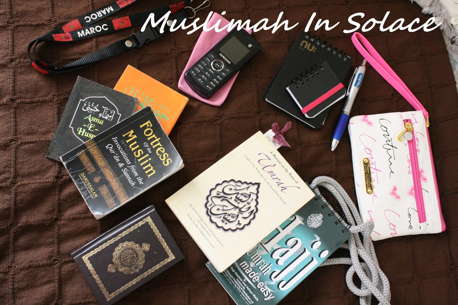 Muslimah in solace what every muslimah should take to hajjumrah 3 umrah and hajj booklets i recommend you take at least one of these books i can not speak enough of these two books both available online i purchased solutioingenieria Gallery