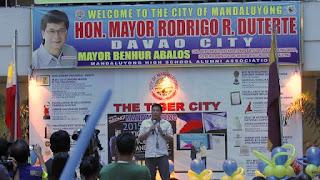 """Gawa, hindi salita"" Duterte in Manadaluyong City 2015"