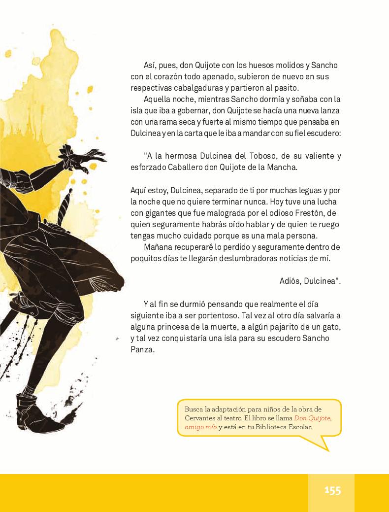 El mundo de don Quijote - Español Lecturas 4to 2014-2015