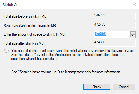 how to shrink an image