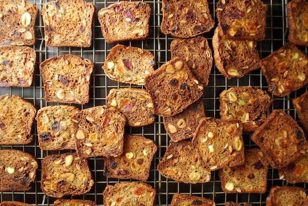 Maple Fruit & Nut Crisps (An Easy Homemade Cracker Recipe!)