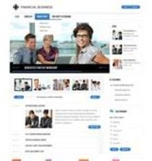 GK-Financial Business - Joomla Template June 2011 GavickPro