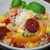 Risotto z Chorizo i Warzywami