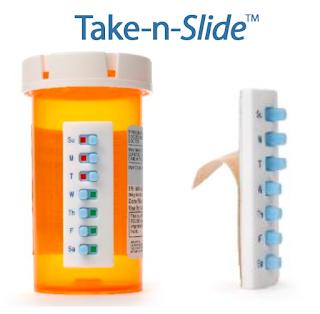 take in slide patent