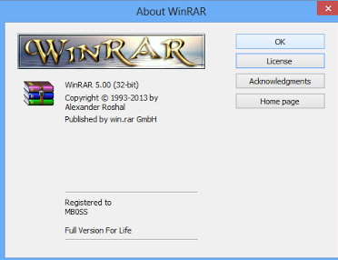 Download Winrar 5.00 Final x86/x64 Full Version