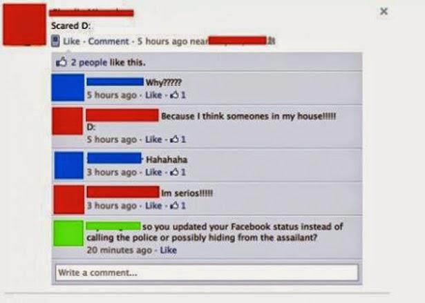 3. Lebih Percaya Facebook Daripada Polisi