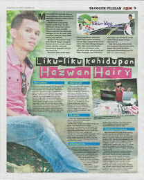 BLOGGER PILIHAN UTUSAN MALAYSIA 8/12/12