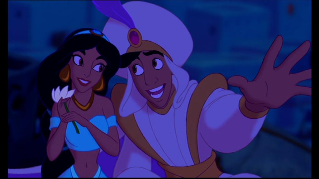 aladdin rencontre genie