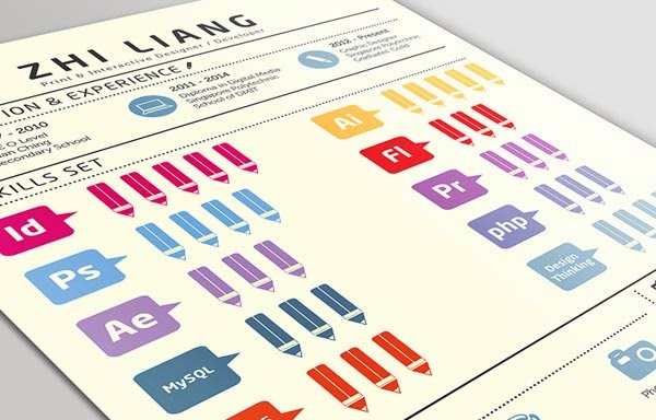 30 Infographic Resumes that Stand Out