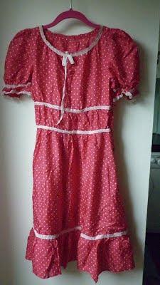 pembe puantiyeli ikinci el elbise mesfringues