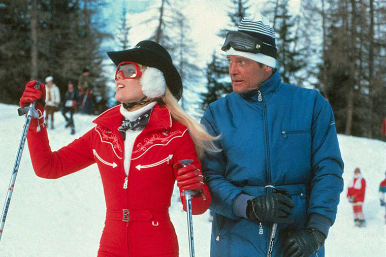 Die blutjunge Lynn-Holly Johnson und Herbstblüte Roger Moore in IN TÖDLICHER MISSION (1981). Quelle: MGM / Sony Blu-ray