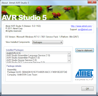Atmel Studio 7 Import Template Bug? AVR Freaks