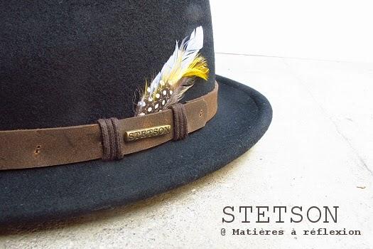 Chapeau Stetson pour homme petit bord