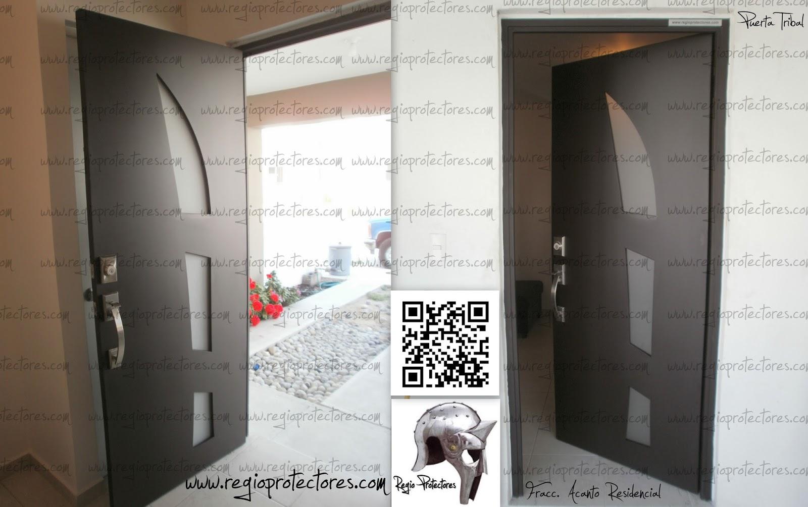 Regio protectores regio protectores puerta principal de for Modelos de puertas principales