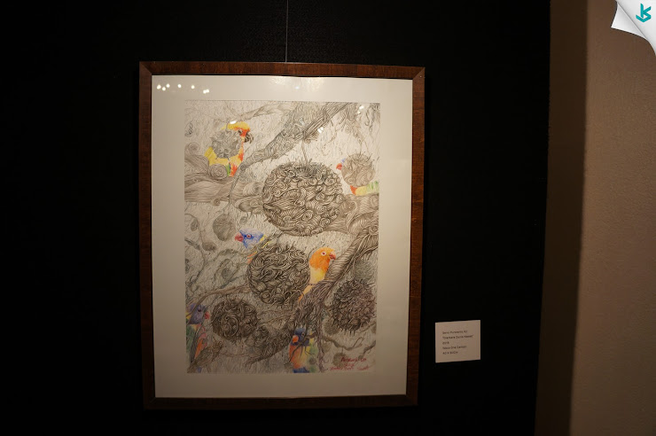 Gambar Pameran Lukisan - Lukisan Diantara Dunia Kawat