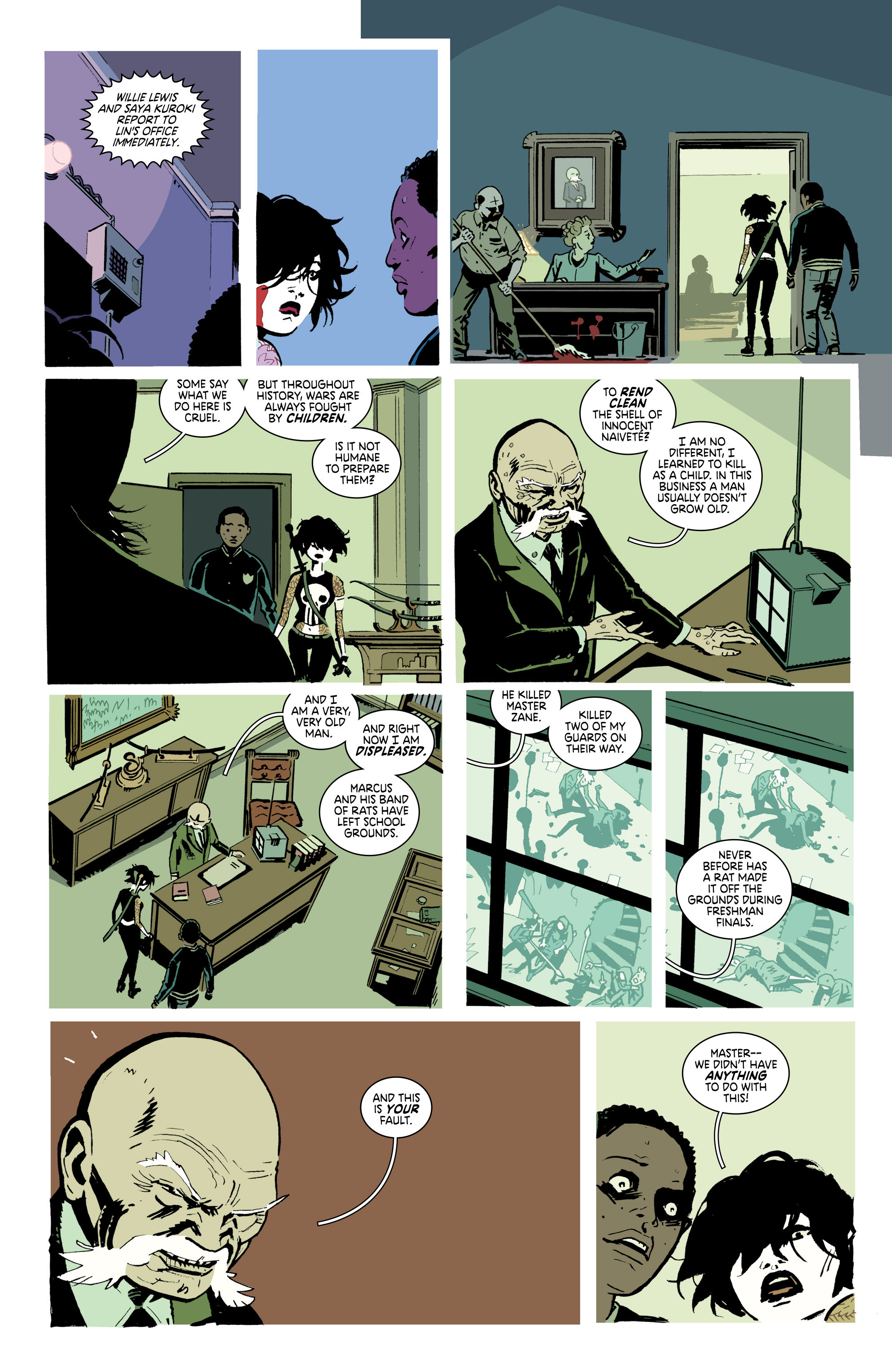 Read online Deadly Class comic -  Issue #18 - 21