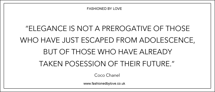 via fashioned by love | best fashion & style quotes |Chanel