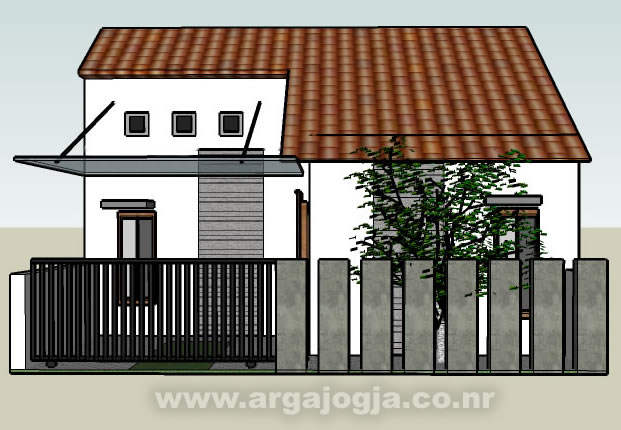 model pagar rumah minimalis type 36 rumah minimalis terbaru
