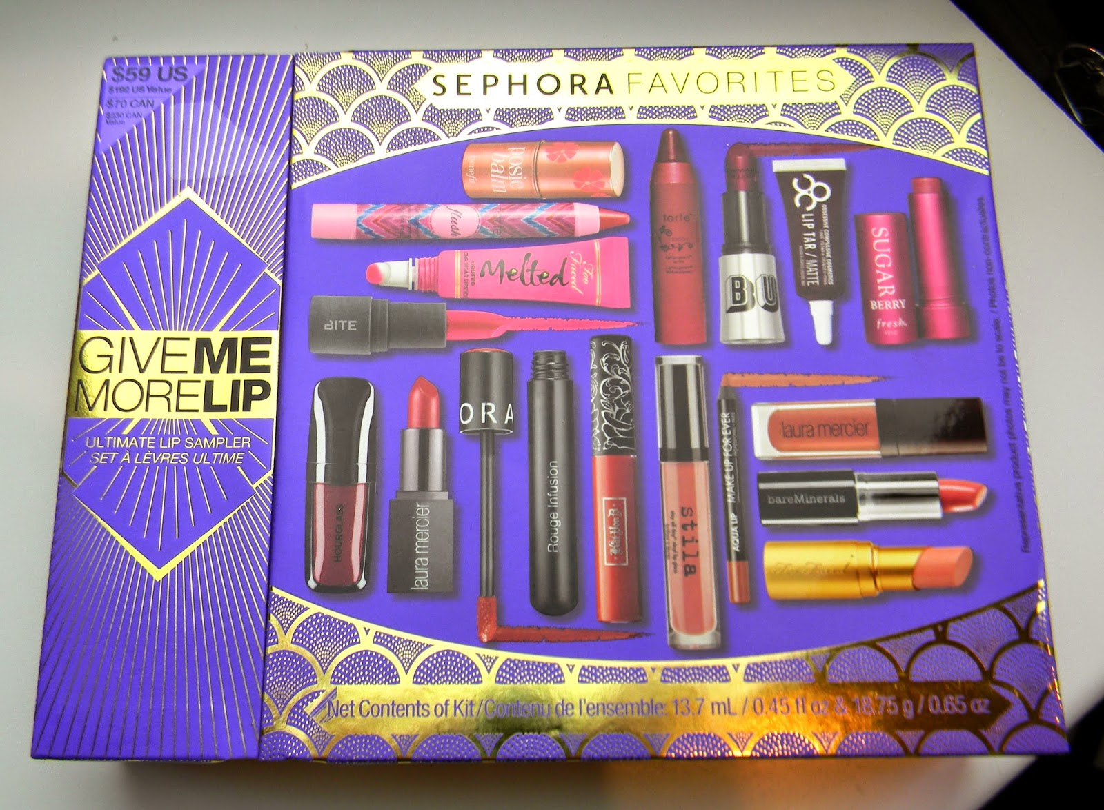 Sephora - Give Me More Lip swatches